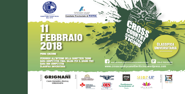 Unipv Calendario.Cross Country Canottieri Ticino Vivipavia