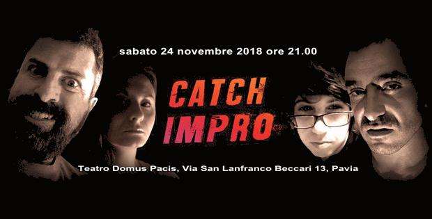 Catch Impro' - la sfida di improvvisazione teatrale