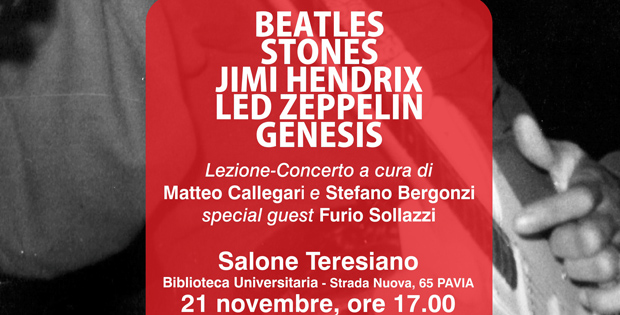 Beatles, Stones, Jimi Hendrix, Led Zeppelin, Genesis