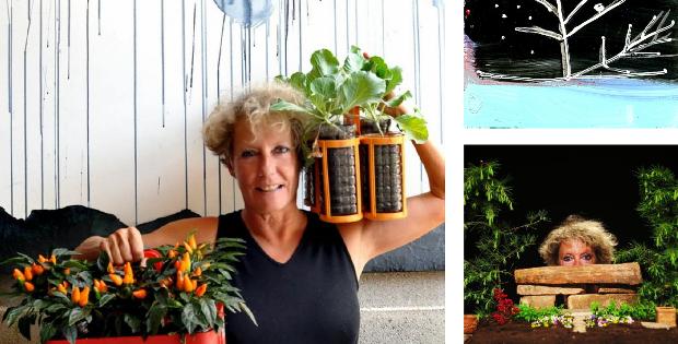 """""""Terza lezione di giardinaggio per giardinieri planetari"""" di e con Lorenza Zambon"""