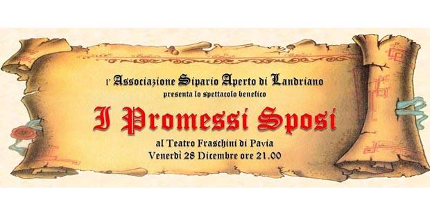Spettacolo Benefico 'I Promessi Sposi'