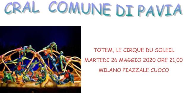 Totem, Le Cirque du soleil. Martedì 26 maggio 2020 ore 21,00.