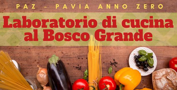 Laboratorio di cucina al Bosco Grande