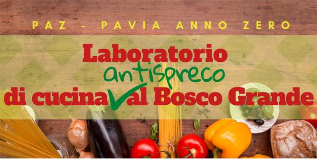 Laboratorio di cucina antispreco al Bosco Grande