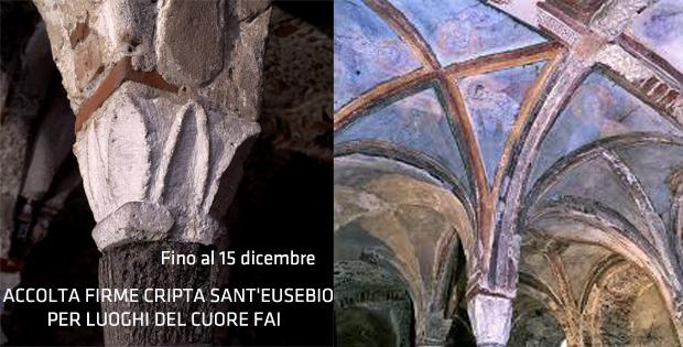 Raccolta Firme per la Cripta di Sant Eusebio
