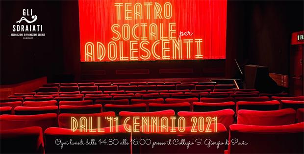 Laboratorio di Teatro Sociale per Adolescenti